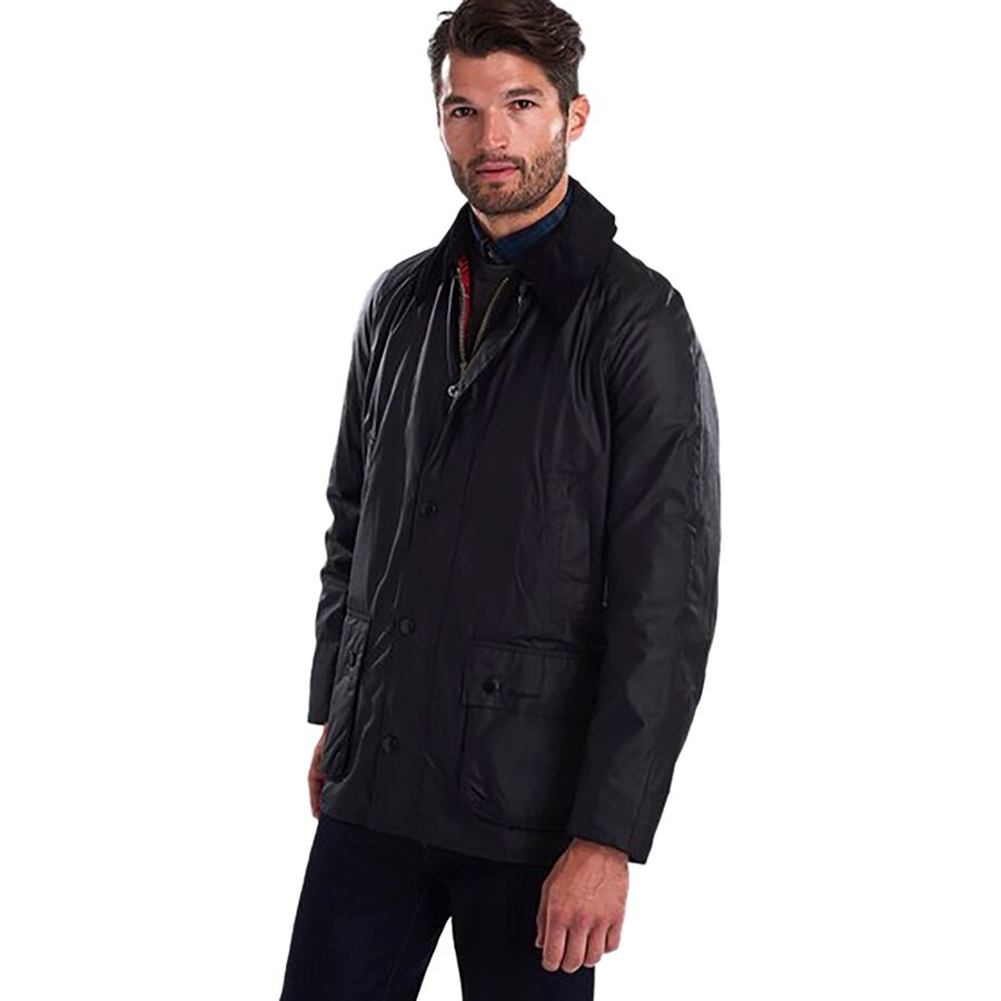 Barbour Ashby Wax Jacket - Mens