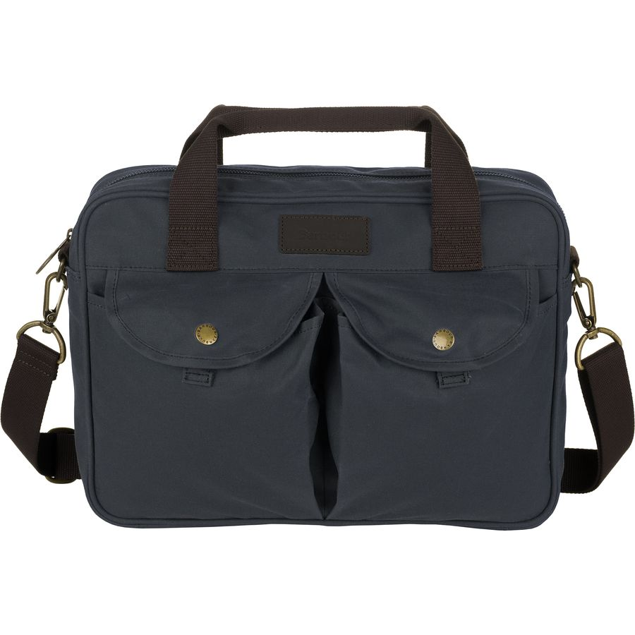 Barbour - Longthorpe Laptop Bag - Navy