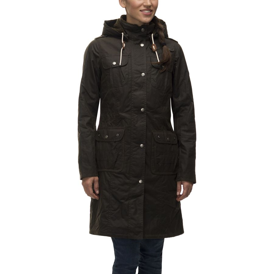 Barbour Winterton Wax Jacket - Womens