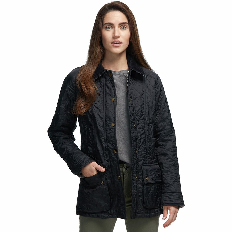 on feet images of online shop separation shoes Barbour Beadnell Polarquilt Jacket - Women's