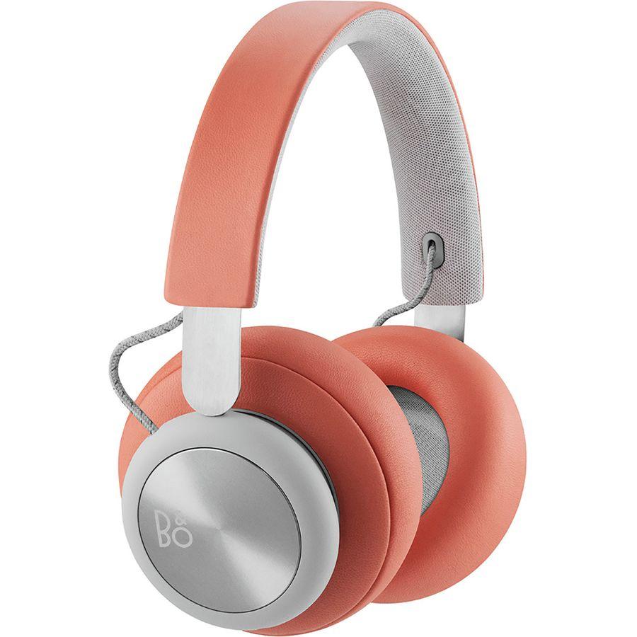 946aedc589c Bang & Olufsen - H4 Bluetooth Headphones - Tangerine Grey