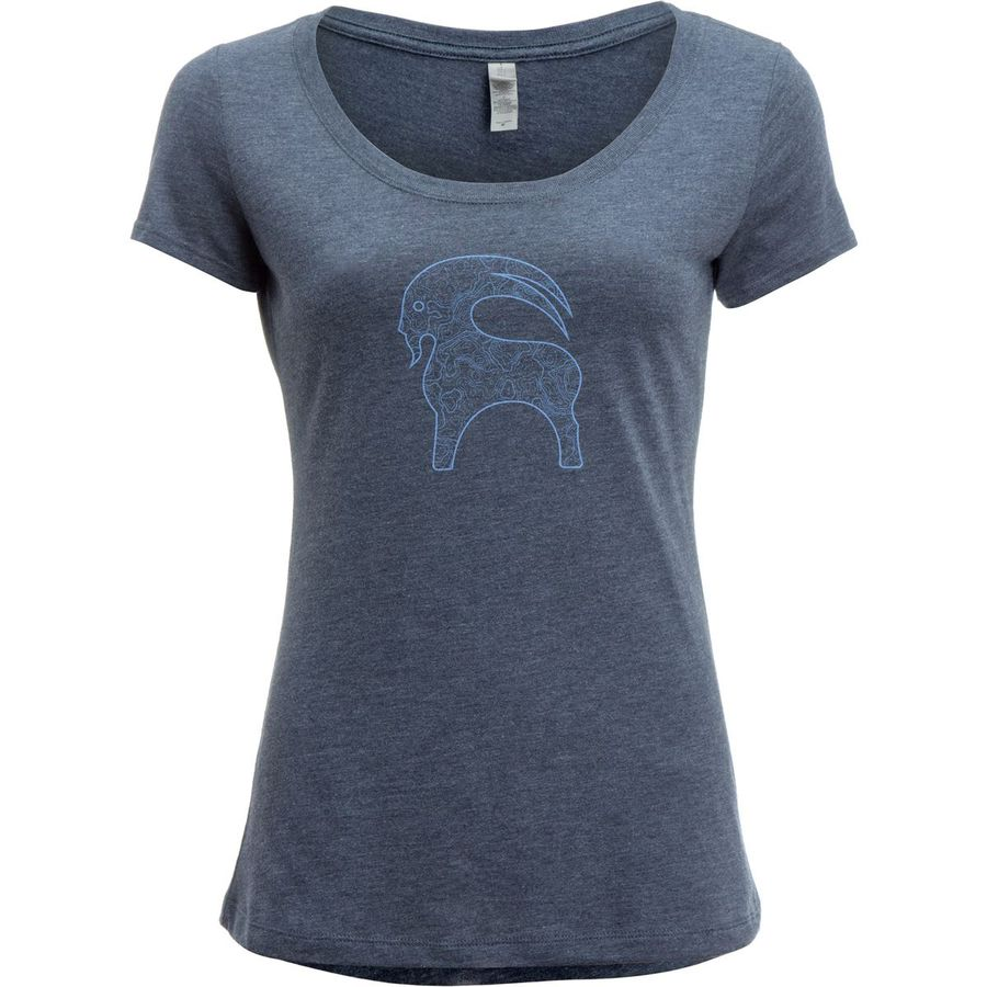 Backcountry Topographic Goat T-Shirt - Womens