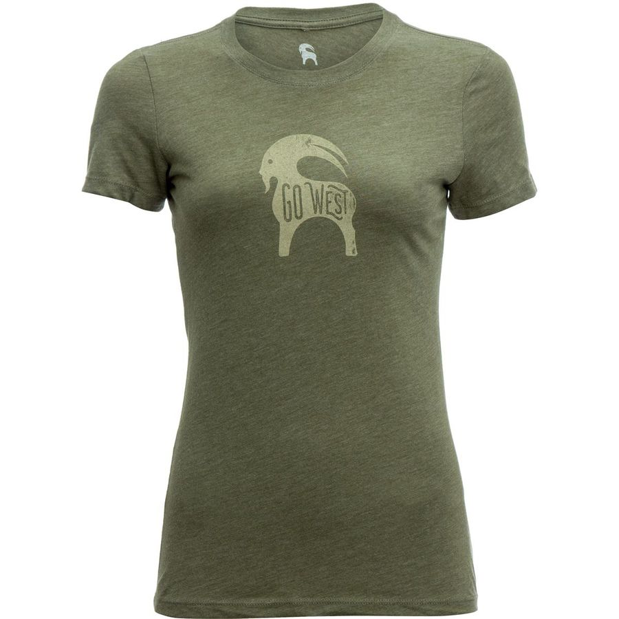 Backcountry Go West Goat Graphic T-Shirt - Womens
