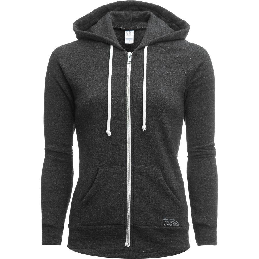 Backcountry Woven Label Backcountry Full-Zip Hoodie - Womens