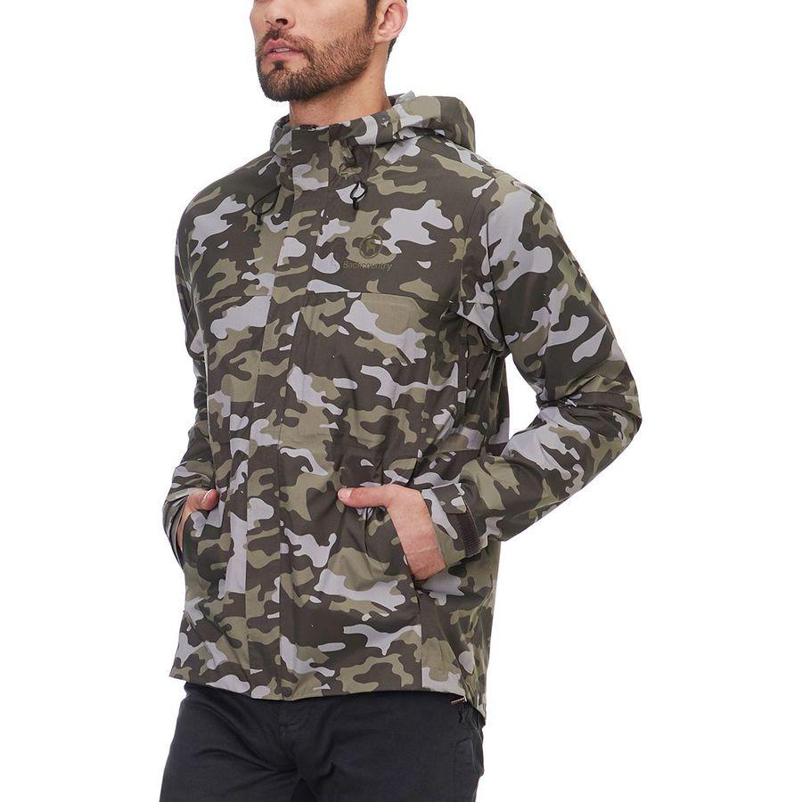 0627e37650353 Backcountry - Trail Weight Rain Jacket - Men s - Olive Camo