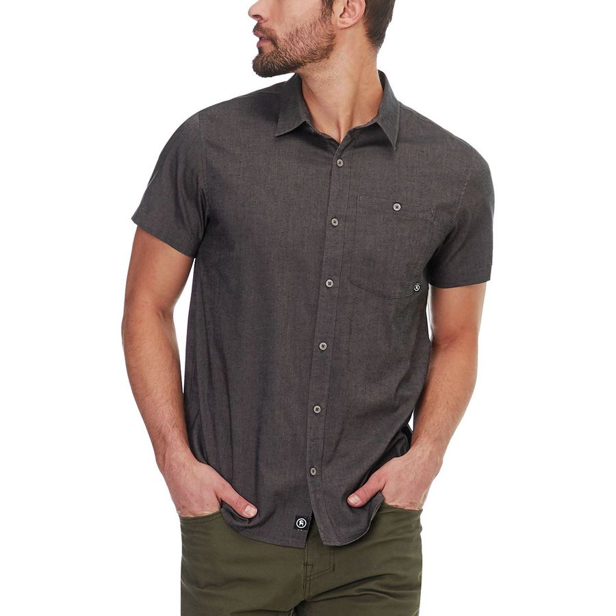 Backcountry Stretch Chambray Short-Sleeve Shirt - Mens