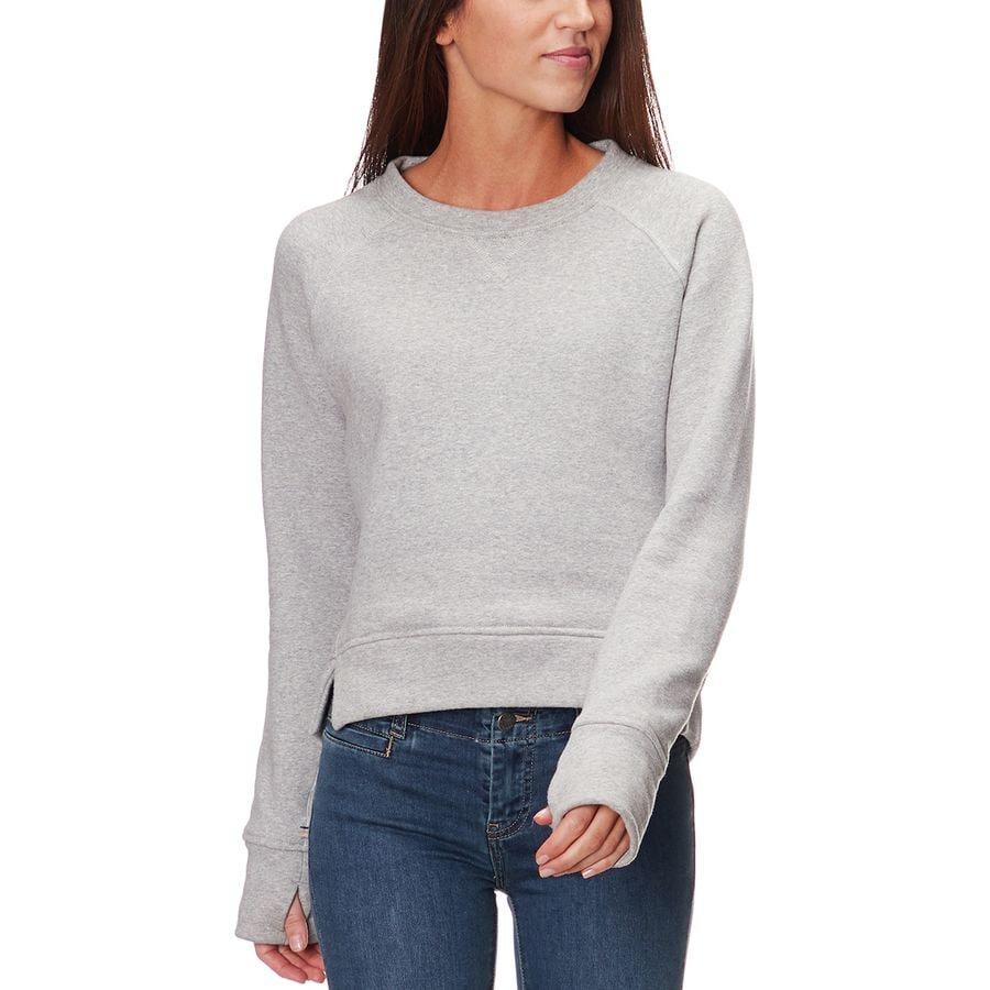Backcountry Hi,Low Crew Neck Sweatshirt , Women\u0027s