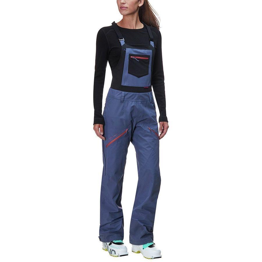 Backcountry - x Flylow Patsey Marley Bib Pant - Women s - Dusty Blue 2779e3b7b7