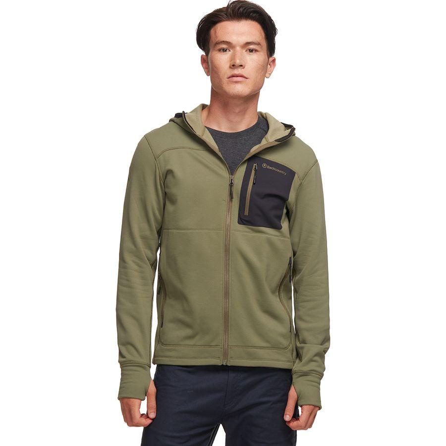 ef7fc084d531 Backcountry - Timpanogos Tech Fleece Hoodie - Men s - Army Green