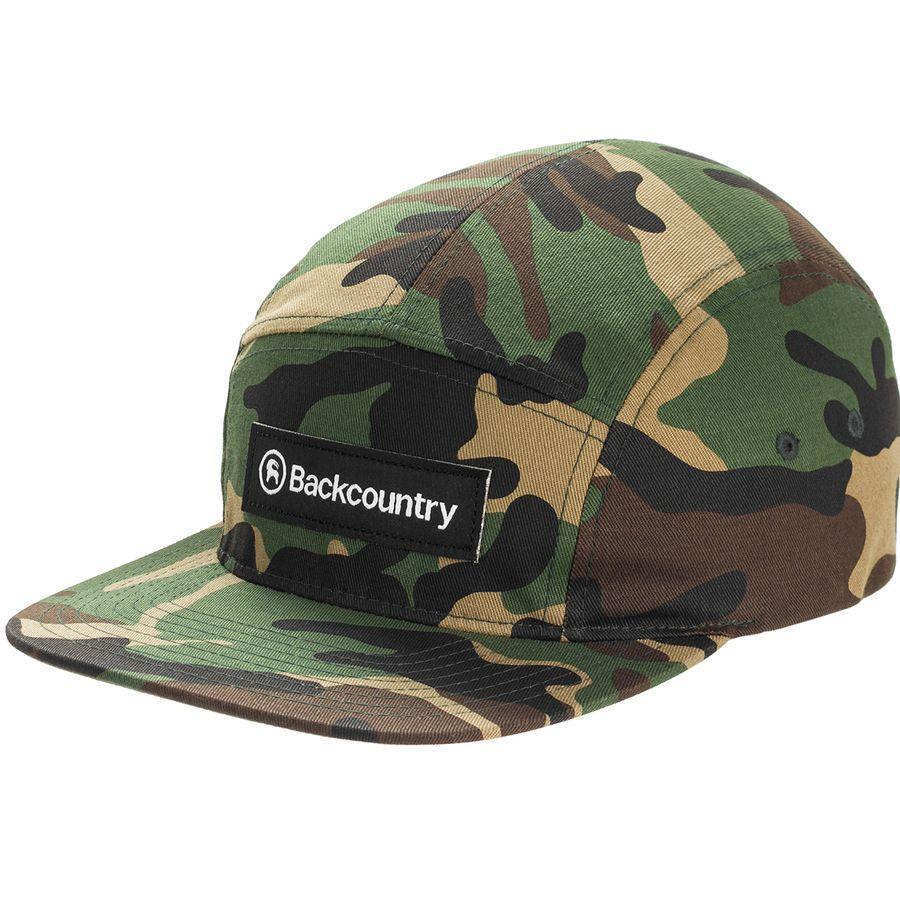 Backcountry - Logo 5 Panel Hat - Camo 649edcdc3ca