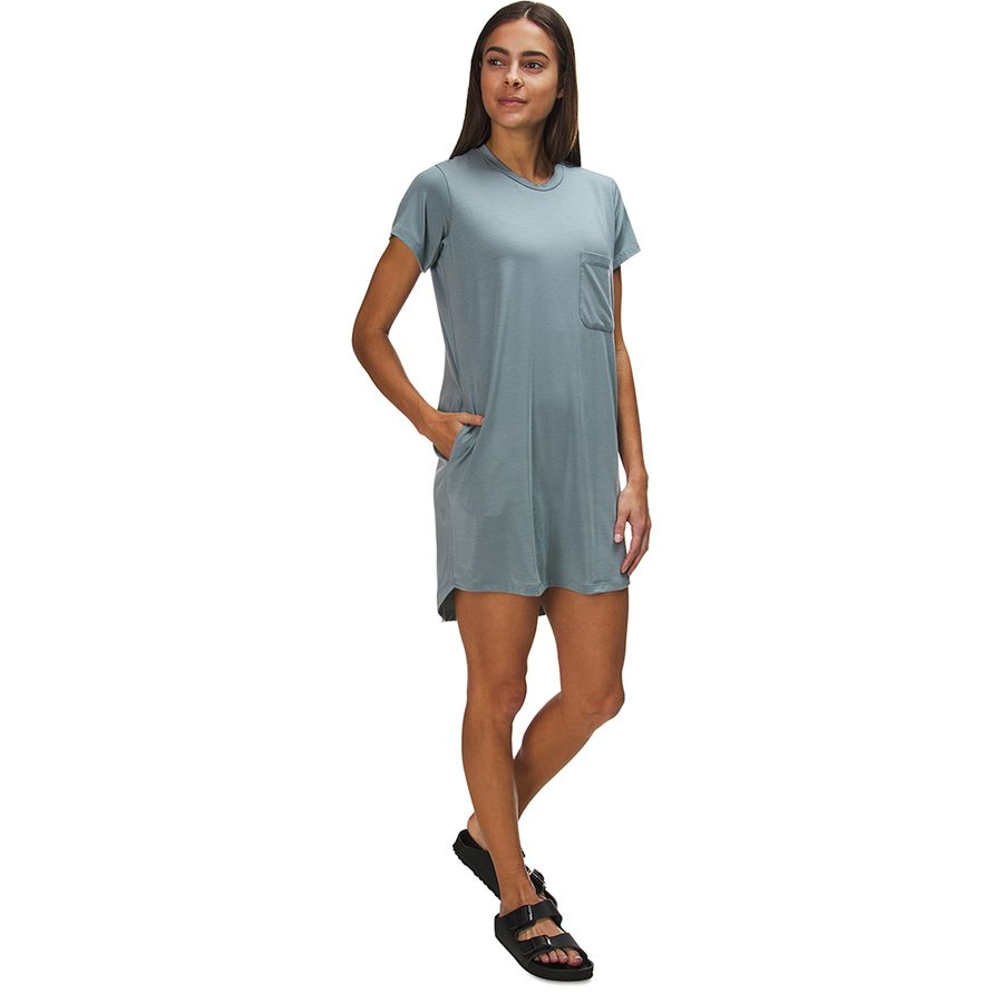 Backcountry Jersey Knit Shirt Dress - Womens