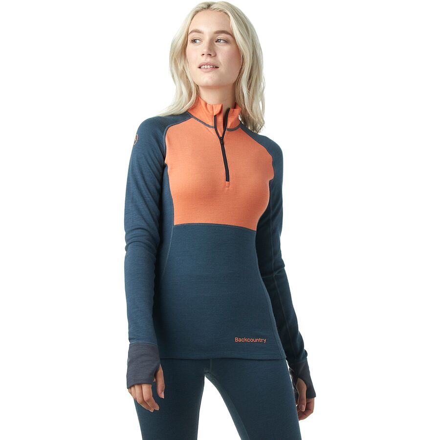 Backcountry Spruces Merino Baselayer 1/4-Zip Top - Womens