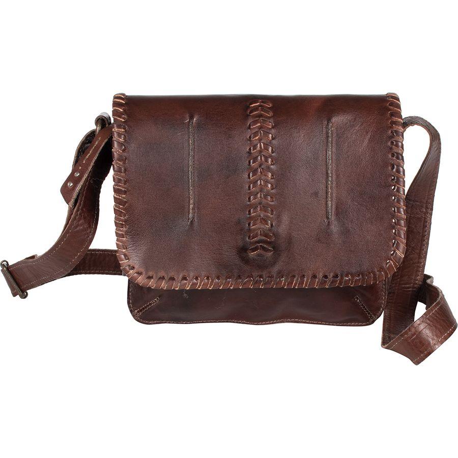 Bed Stu - Frankie Artisan Leather Crossbody Bag - Women s - Teak Rustic 052decf420970