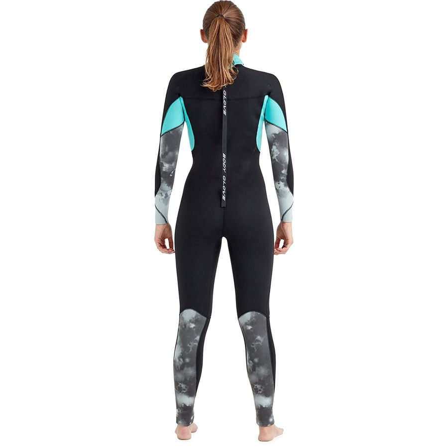Body Glove Stellar Back Zip 4 3MM Full Wetsuit - Women s ... 43c56dc84