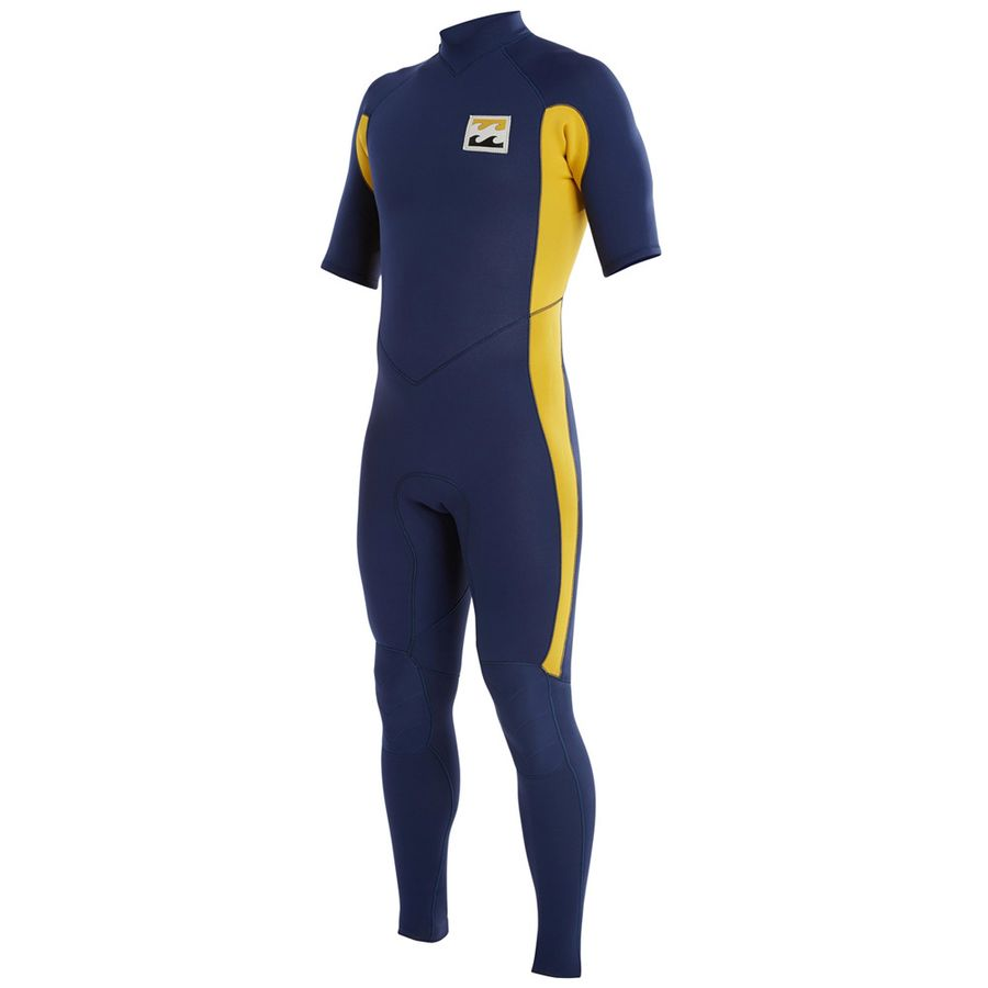 Billabong Revolution Re-Issue TW 202 Back Zip Full Short-Sleeve Wetsuit - Mens