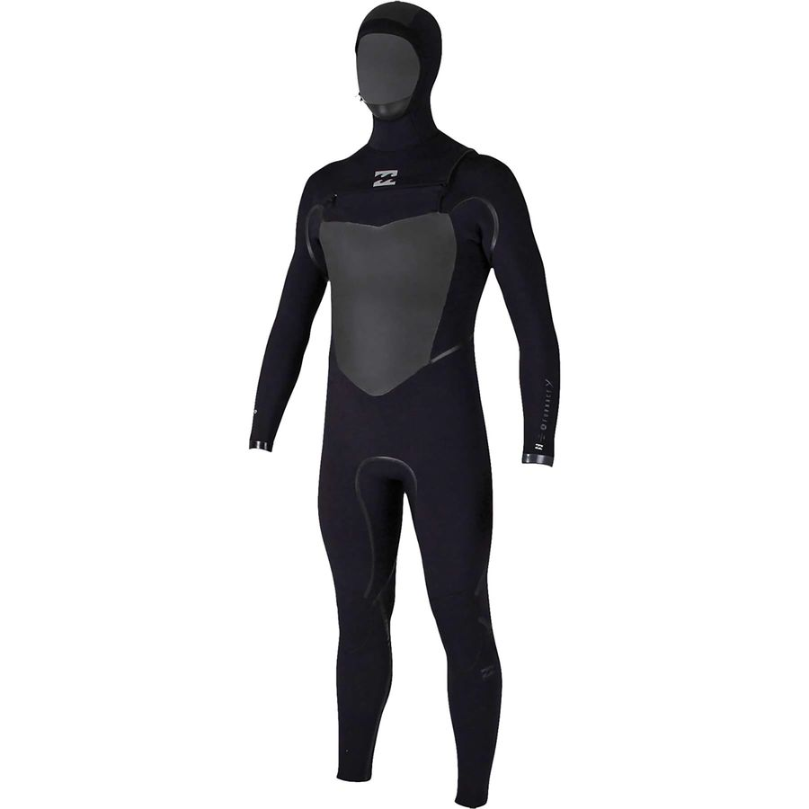 Billabong 504 Furnace Carbon X Hooded Chest Zip Wetsuit - Mens