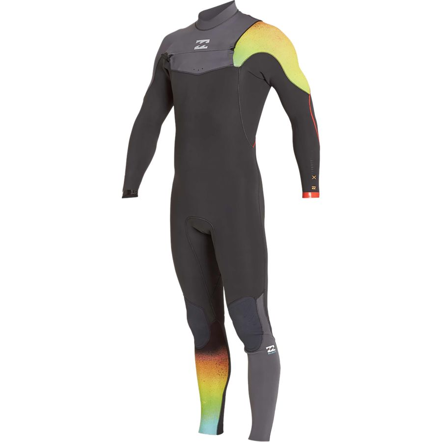 Billabong 4/3 Furnace Carbon Comp Chest Zip Wetsuit - Mens