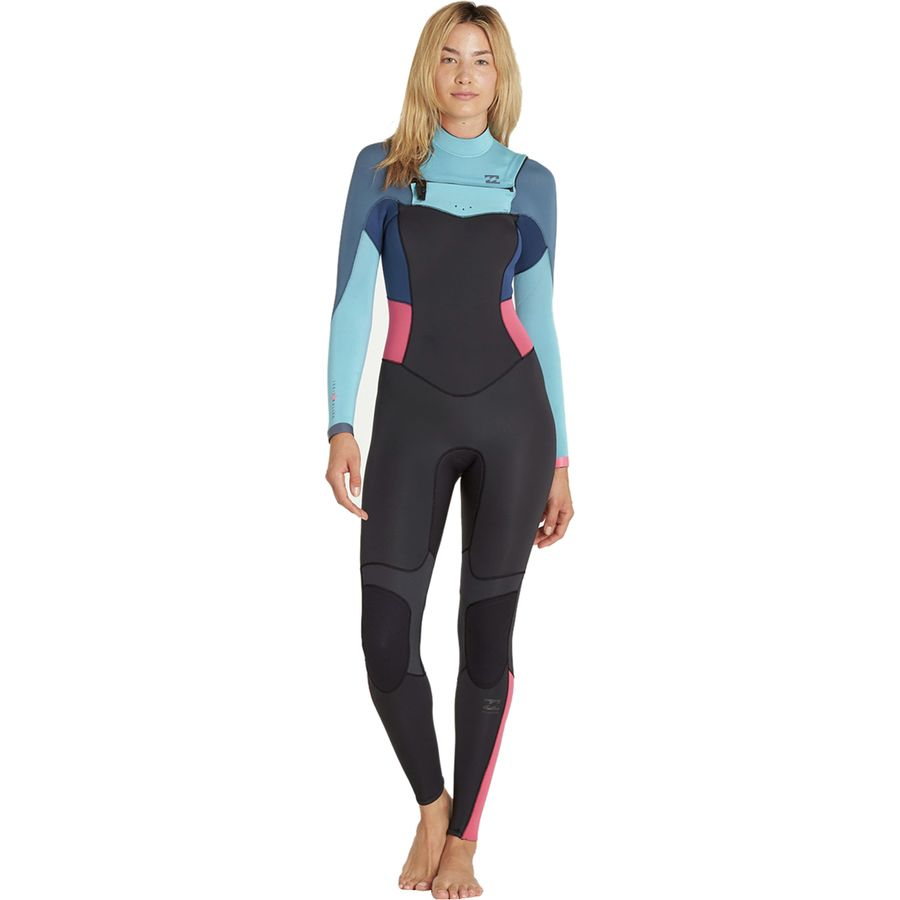 Billabong - 3 2 Synergy Chest-Zip Wetsuit - Women s - Agave cf4ffc736