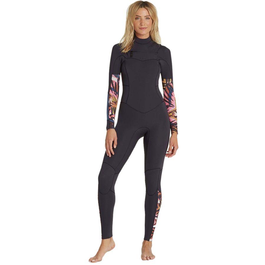 Billabong 3/2 Salty Dayz Chest-Zip Full Wetsuit - Womens