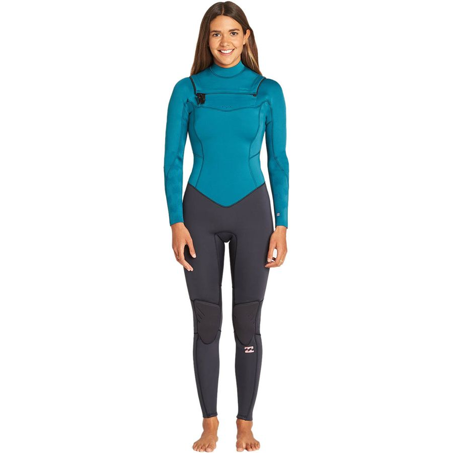 d6b51680cd5 Billabong - 3 2mm Furnace Synergy Chest-Zip GBS Wetsuit - Women s - Pacific