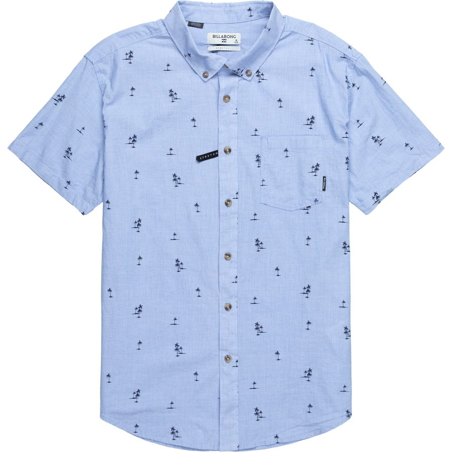 e77d081e3c702 Billabong - Sundays Mini Short-Sleeve Shirt - Men s - Light Blue