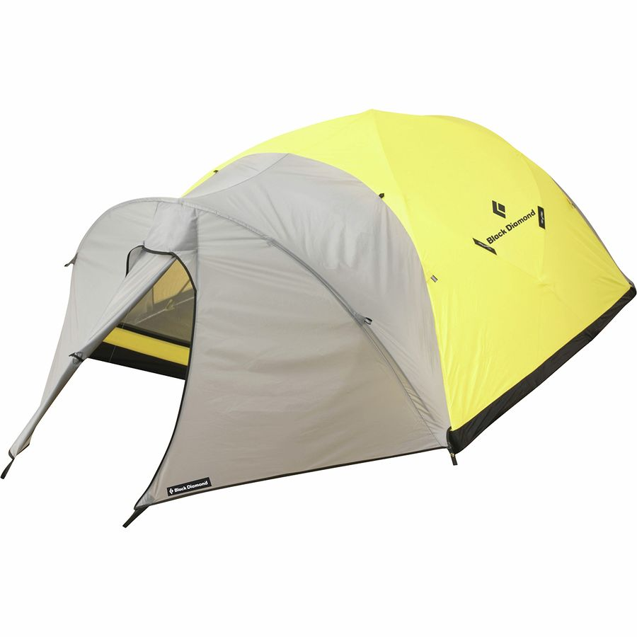 Black Diamond - Bombshelter Tent 4-Person 4-Season - Yellow  sc 1 st  Backcountry.com & Black Diamond Bombshelter Tent: 4-Person 4-Season | Backcountry.com