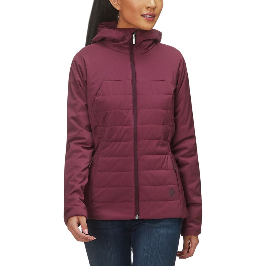Black Diamond First Light Hooded Insulated Jacket Women