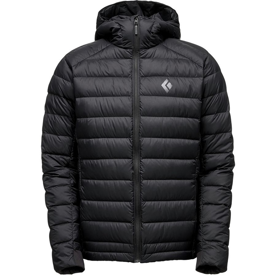 Black Diamond Cold Forge Hooded Down Jacket Men S