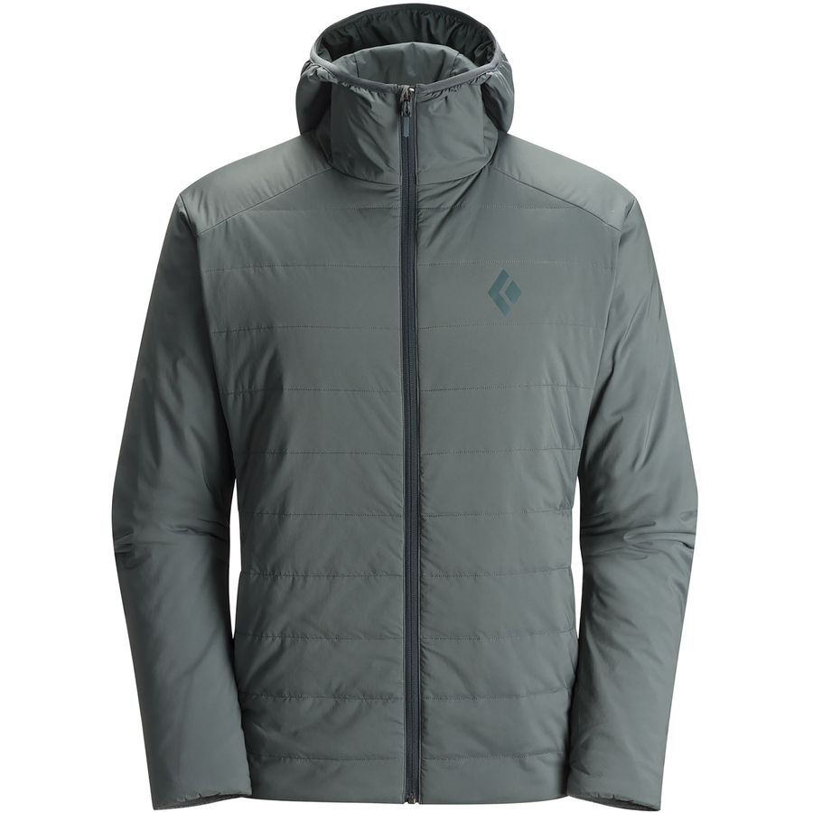 Black Diamond First Light Insulated Hooded Jacket - Men's ...