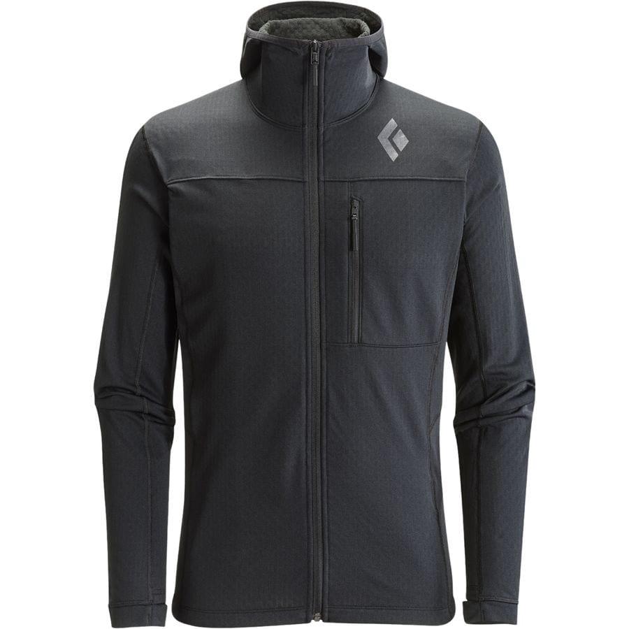 Black Diamond CoEfficient Fleece Hooded Jacket - Men's ...