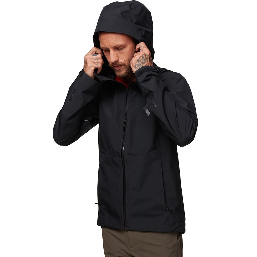 Black Diamond Liquid Point Shell Jacket - Mens