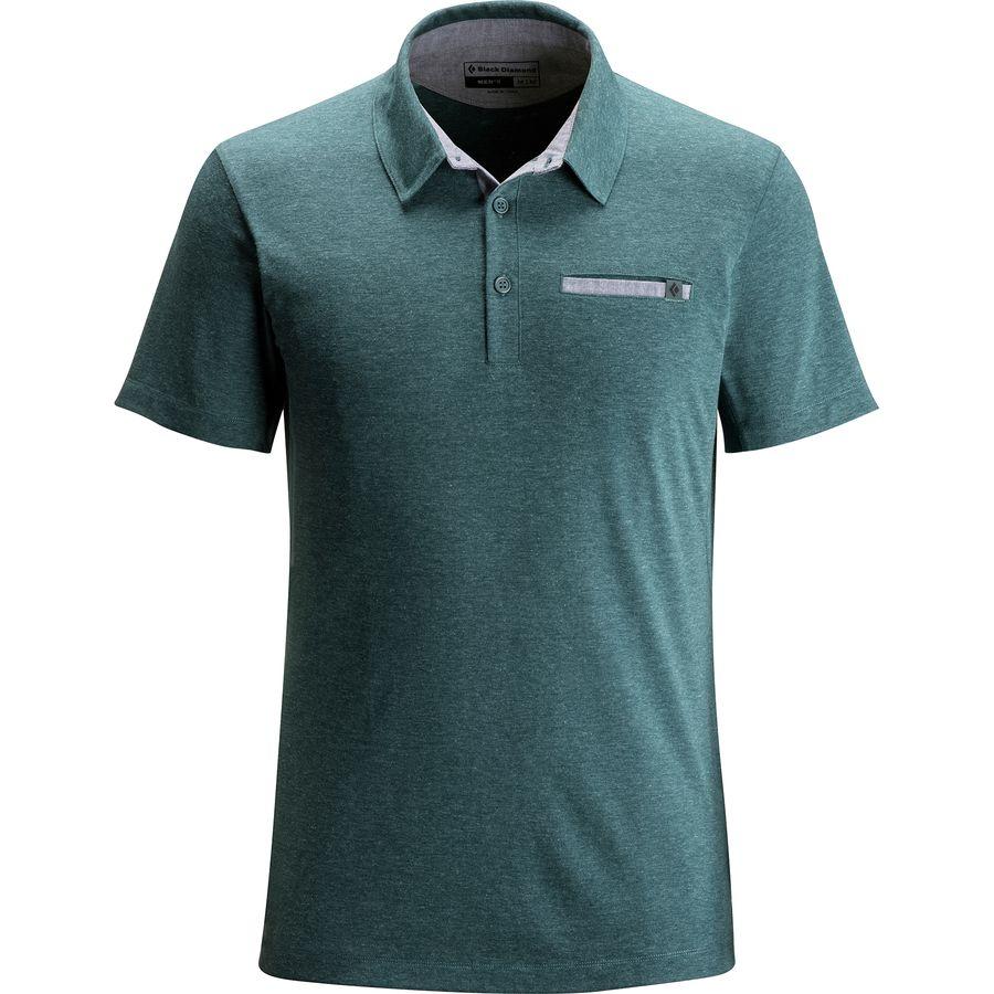 Black Diamond Attitude Polo Shirt - Mens