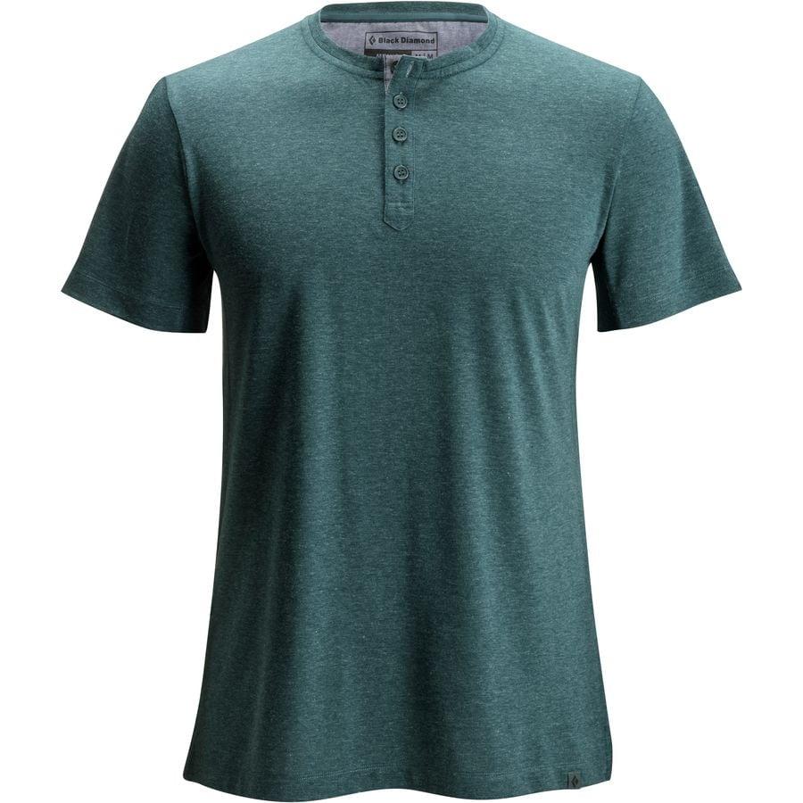Black Diamond Attitude Short-Sleeve T-Shirt - Mens