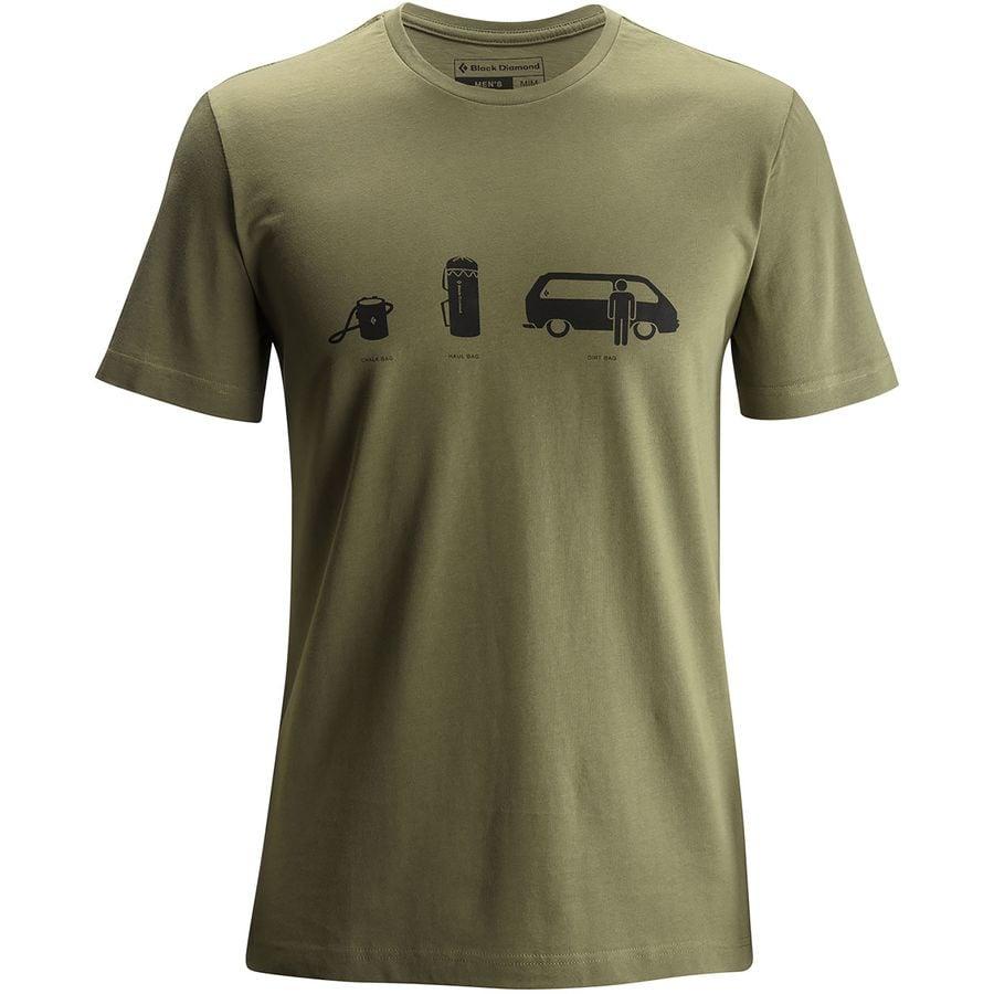 Black Diamond Dirtbag T-Shirt - Mens