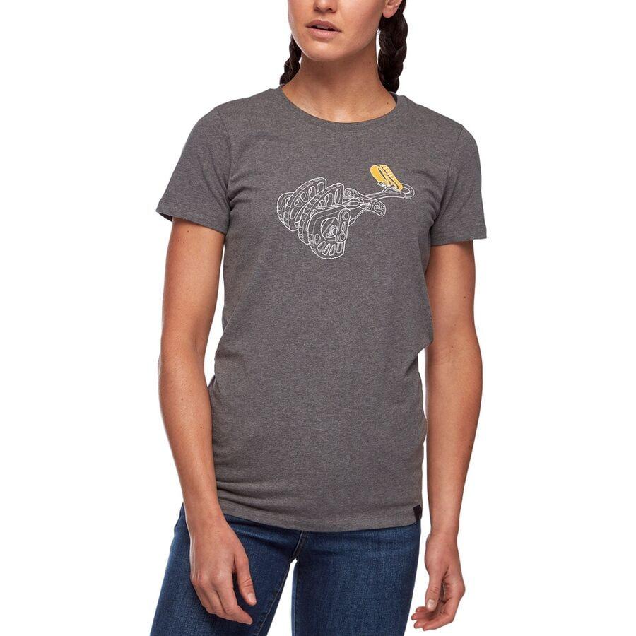 Black Diamond Cam T-Shirt - Womens