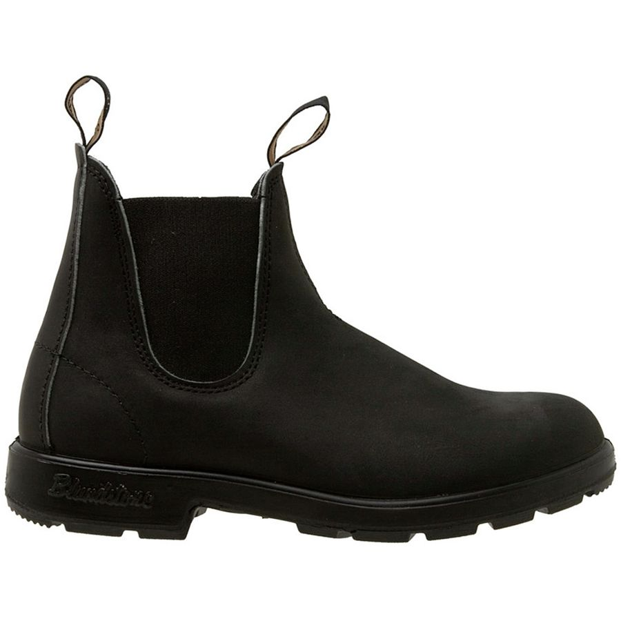 Boots for Men, Booties On Sale, Black, Leather, 2017, 9 Blundstone