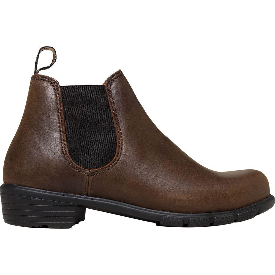 womens short heel boots