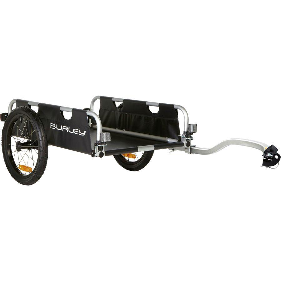 Burley - Remolque para bicicleta de carga utilitaria de cama plana - Negro
