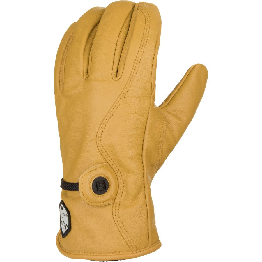 Bionic leather work gloves - Basin And Range Leather Work Glove Natural