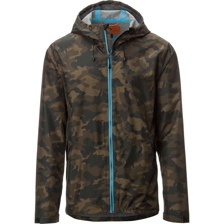 Basin and Range Spiro Rain Jacket - Mens
