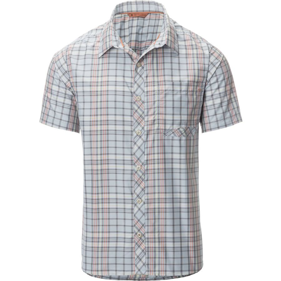 Basin and Range Flying Dog Plaid Shirt - Mens