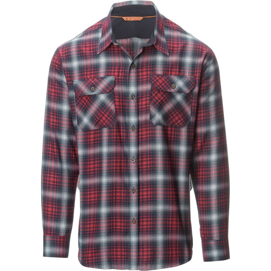 Basin and Range Woodside Hombre Midweight Quick-Dry Flannel Shirt - Mens