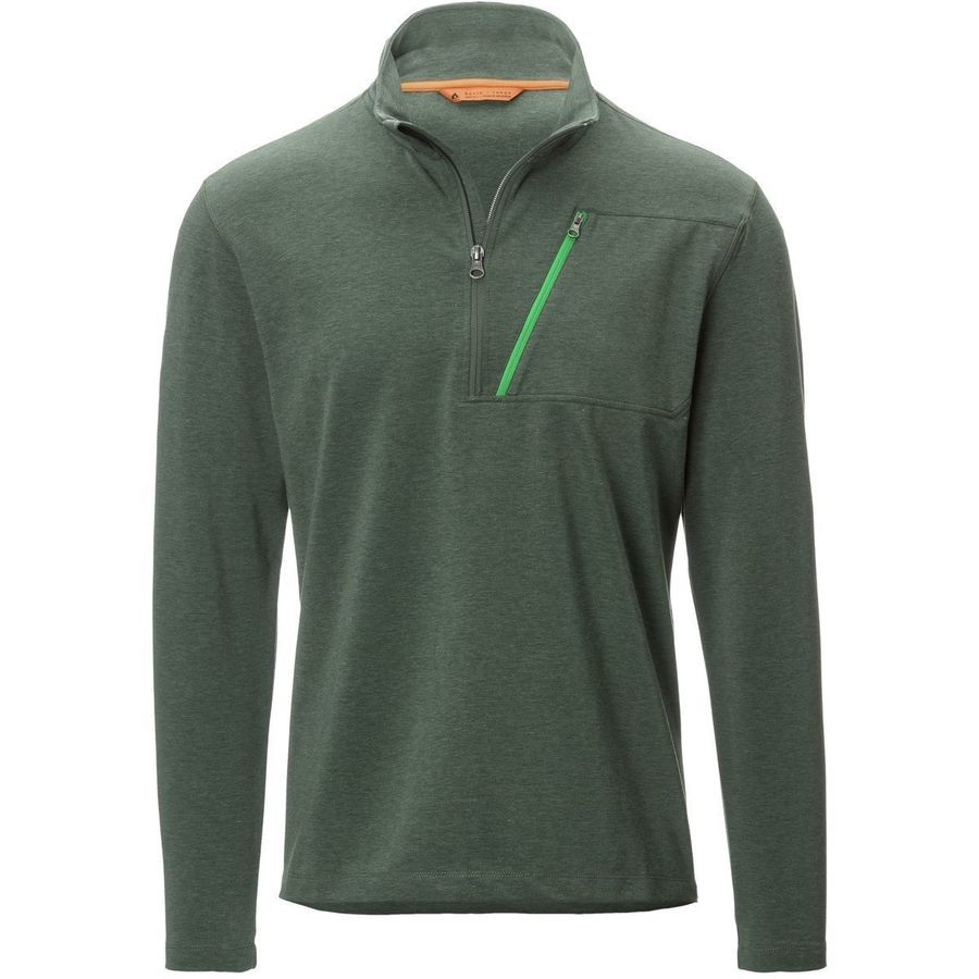 Basin and Range Mid Mountain Dri-Release 1/4-Zip Fleece Jacket - Mens