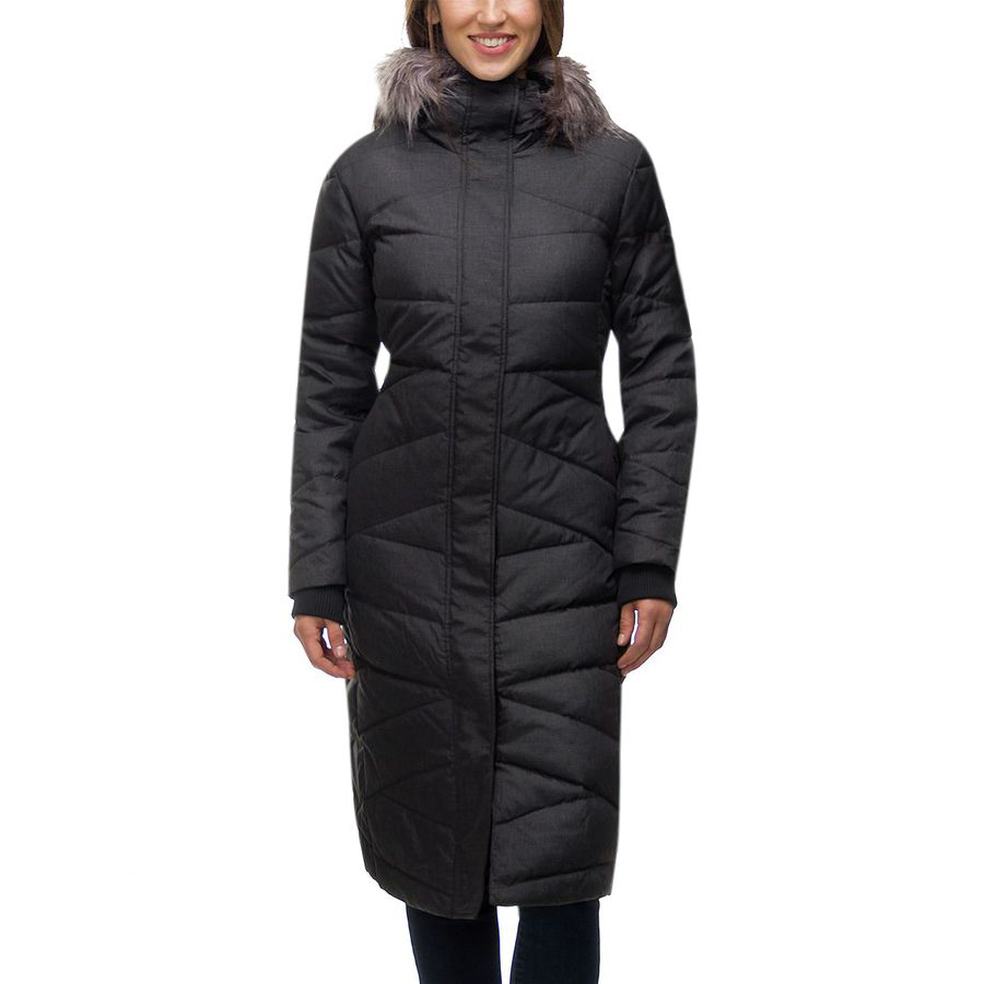 Basin and Range - Blizzard Down Maxi Coat - Women's - Black X Dye