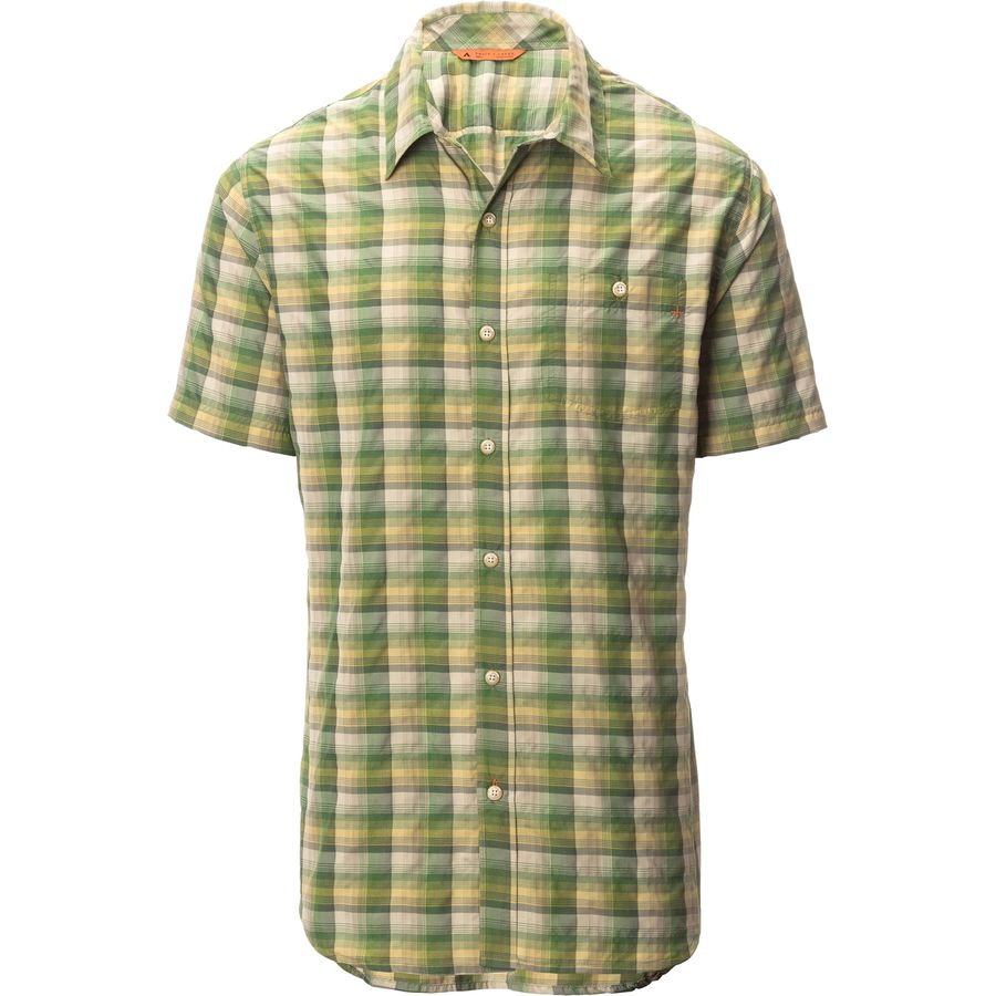 Basin and Range Notch Peak Performance Plaid Short-Sleeve Shirt - Mens