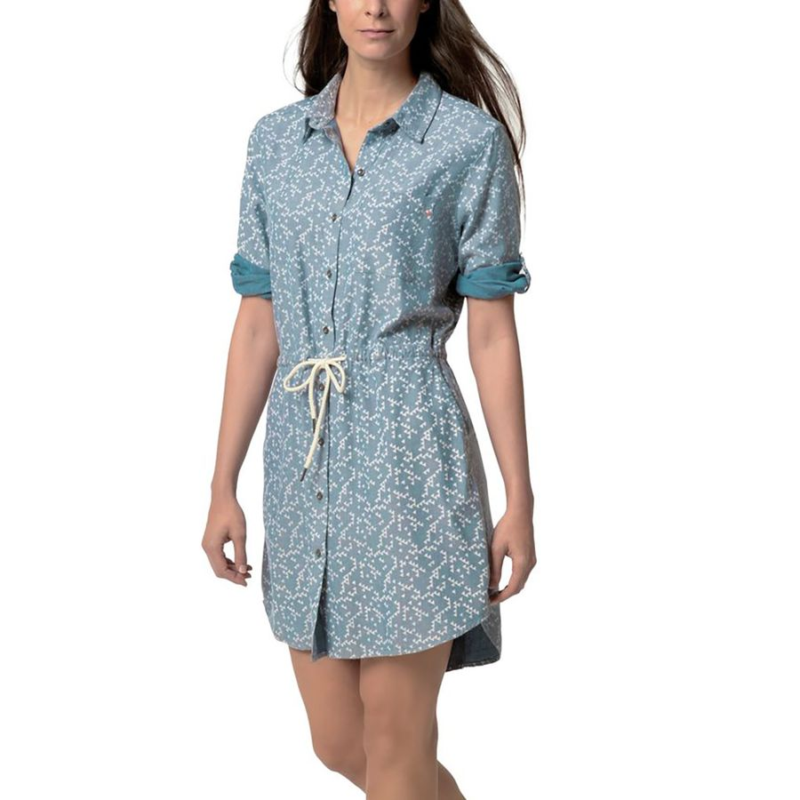 Basin and Range Willow Chambray Shirt Dress - Womens