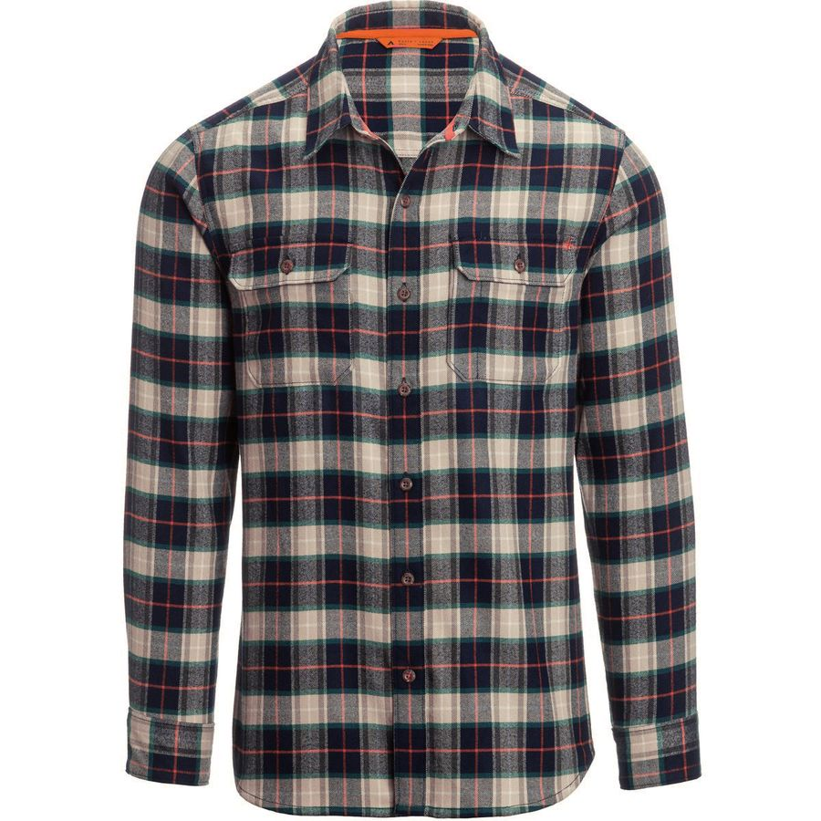 Basin And Range Woodside Plaid Midweight Quick Dry Flannel