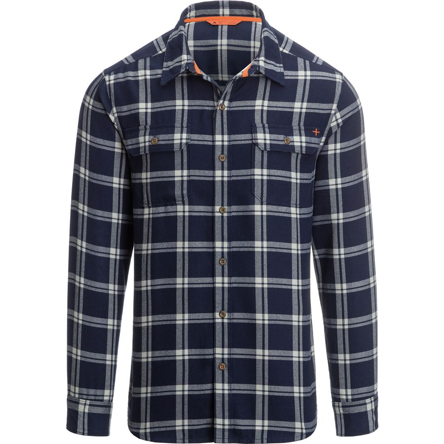 Basin and Range Woodside Ridge Midweight Quick-Dry Flannel Shirt
