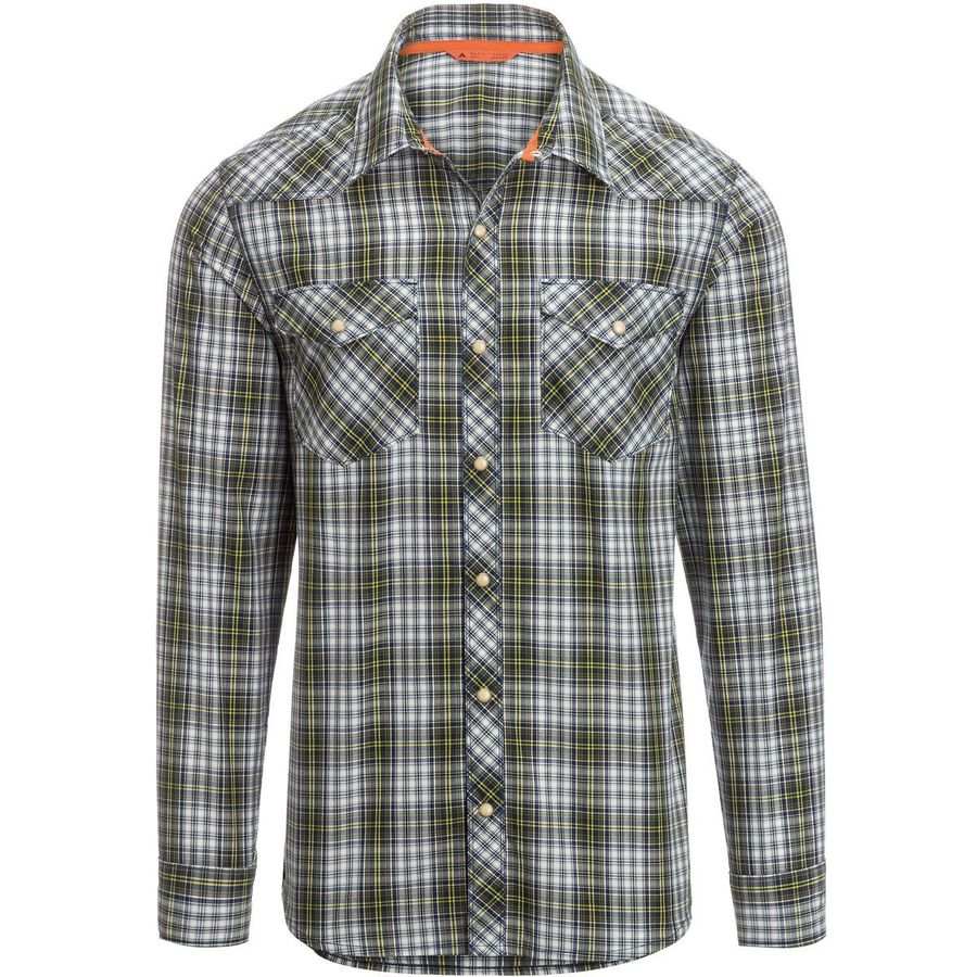 Basin And Range Silver King Quick Dry Plaid Shirt Men S