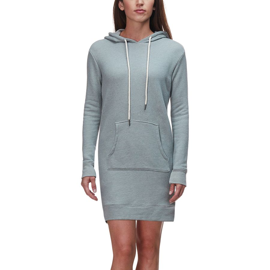 Basin and Range Sunnyside Women's Hooded Dress (Limestone Heather)
